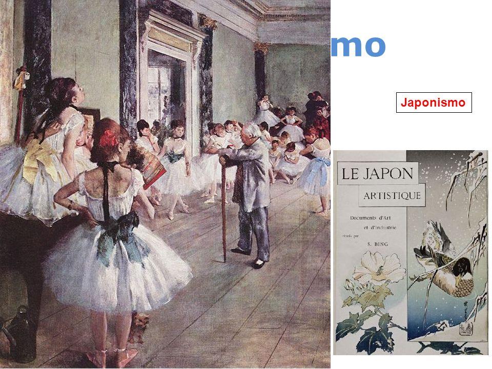 Impresionismo 1874 – 1886 Monet Renoir Degas Morisot Investigaciones de Chevreul (1839) Rood (1881) Sutton (1880) Helmholtz (1878) Japonismo Revista f