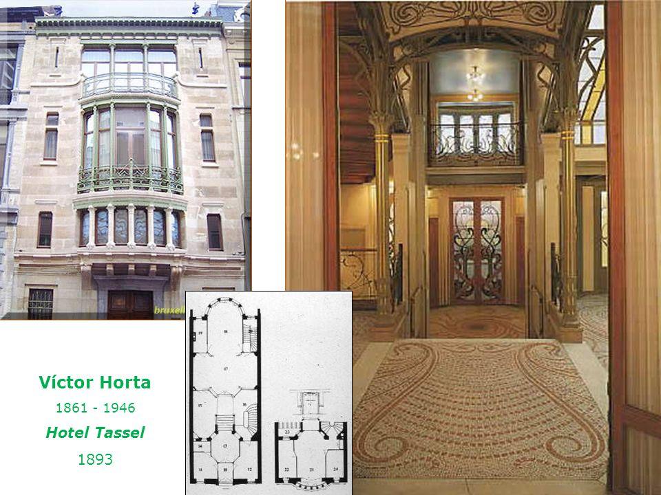 Víctor Horta 1861 - 1946 Hotel Tassel 1893