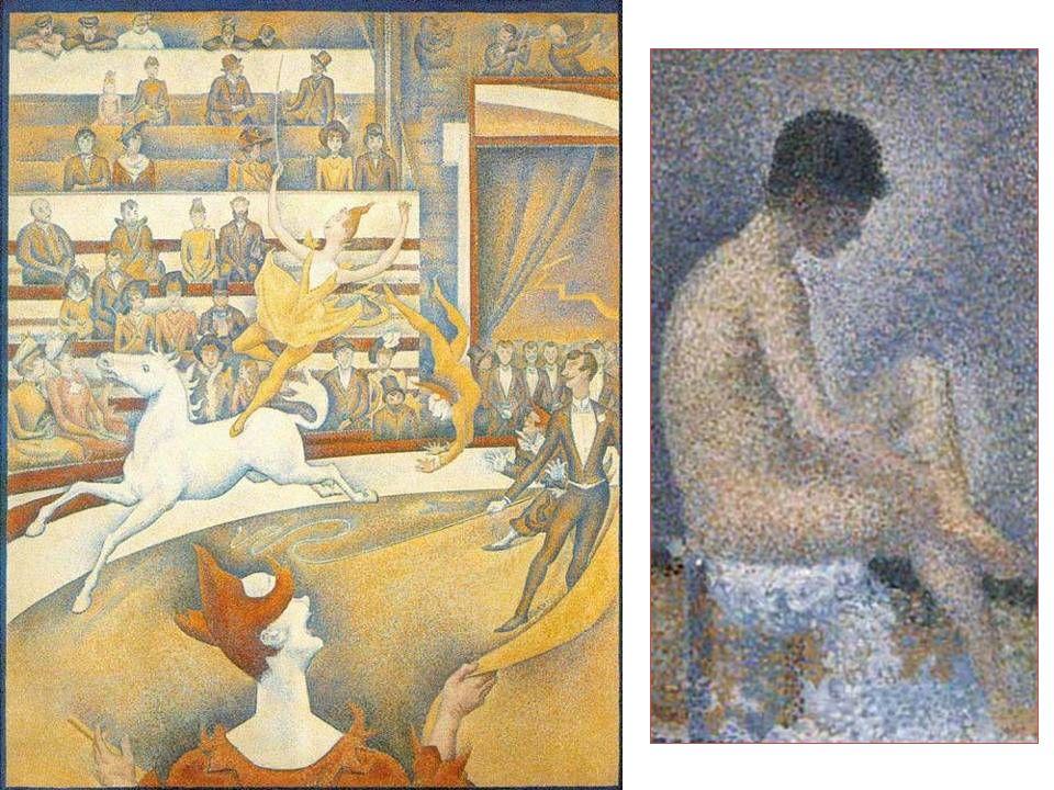 Impresionismo 1874 – 1886 Monet, Renoir, Degas, Morisot Investigaciones ópticas Post- Impresionismo Cèzanne Van Gogh Gauguin Toulouse Lautrec Neo-impresionismo (Puntillismo) Seurat Signac Japonismo