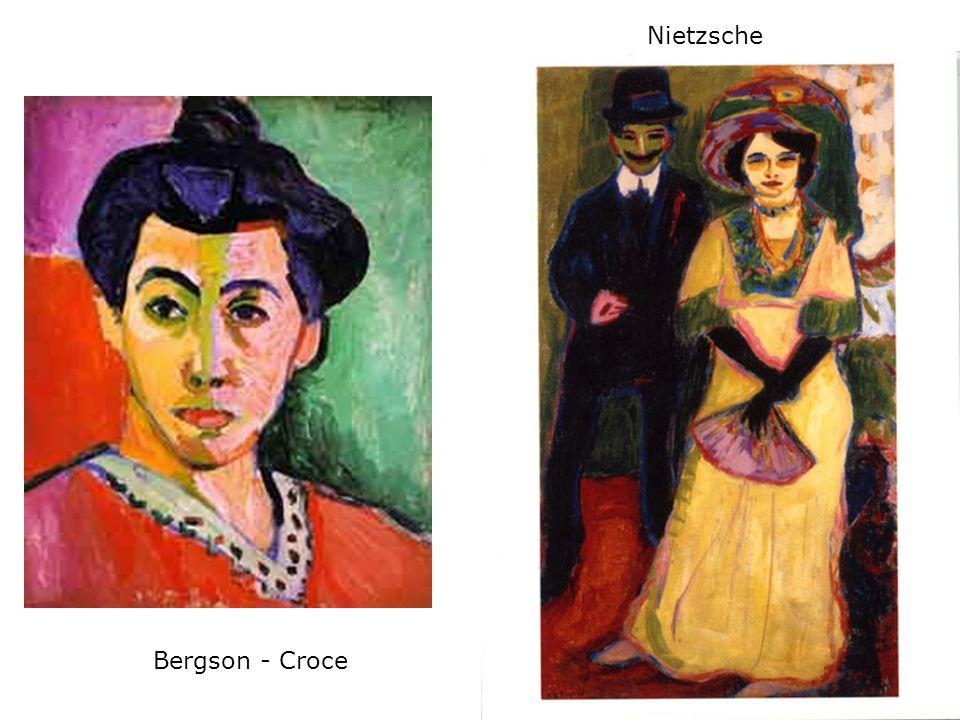 Nietzsche Bergson - Croce