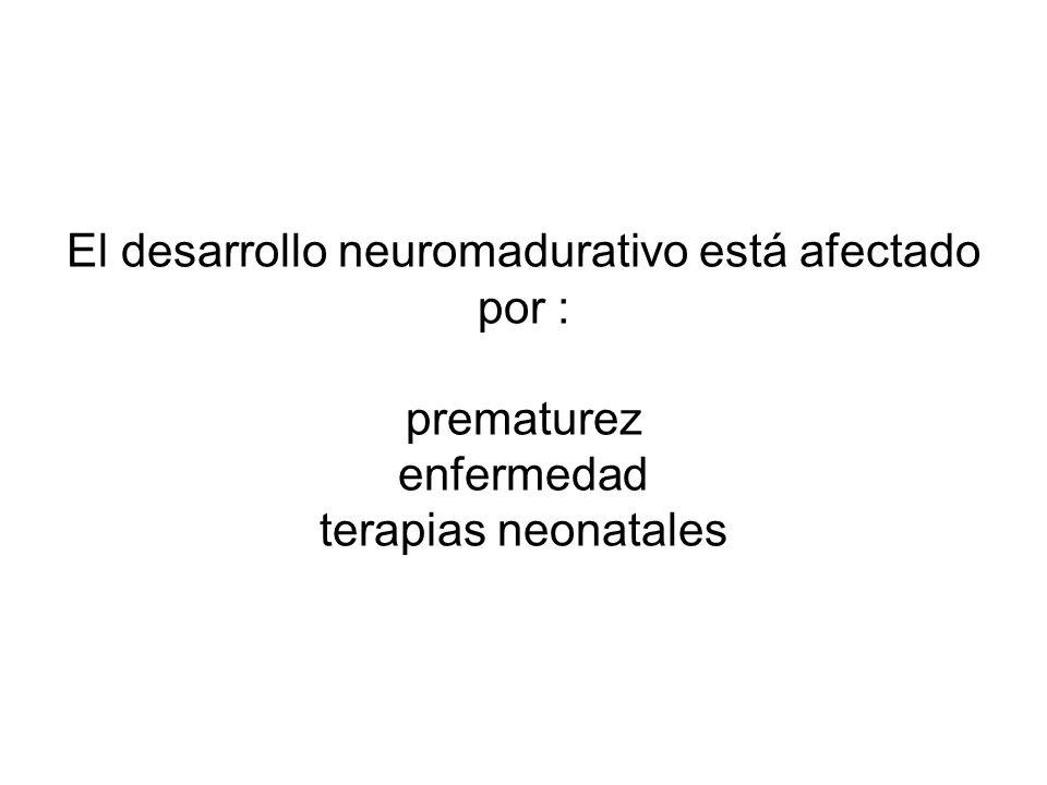 Cuando el daño afecta un sistema inmaduro, hay mas posibilidades de recuperación, pues en los primeros meses de vida hay mayor plasticidad y dinámica del cerebro Importancia de detectar signos leves en forma precoz para poder tratarlos No ocurre lo mismo cuando el sistema es maduro