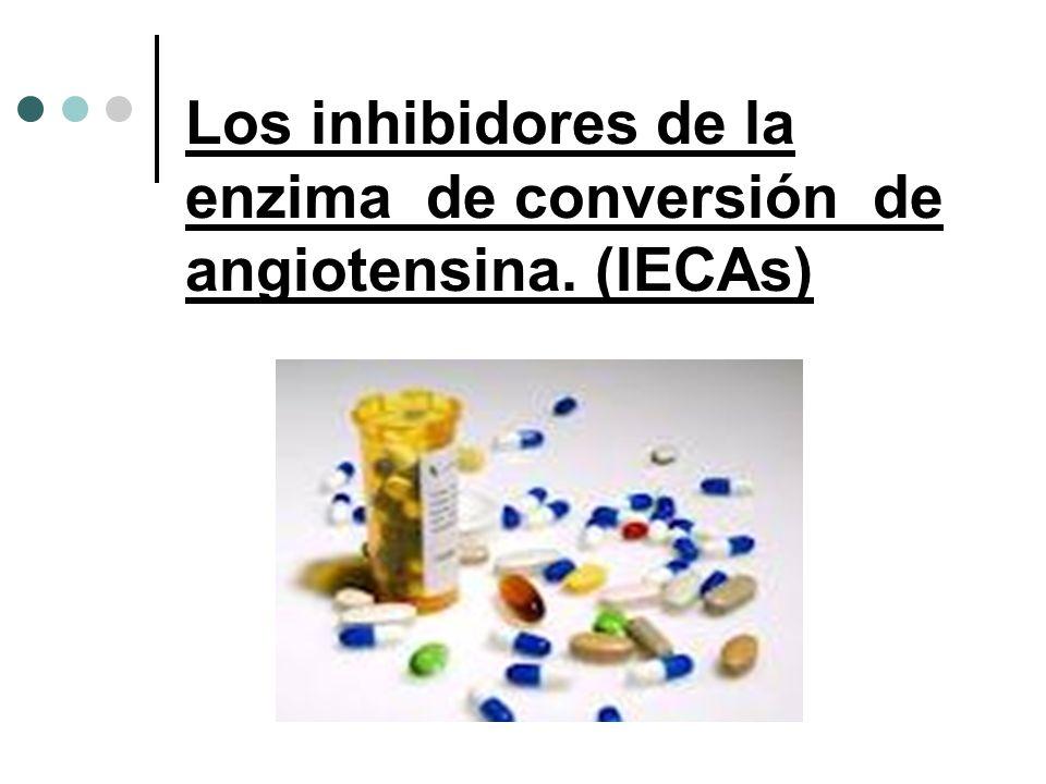 Los inhibidores de la enzima de conversión de angiotensina. (IECAs)