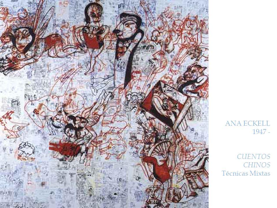 Guillermo Kuitca (1961) – Nadie olvida nada 1982. Acrílico sobre tela, 122 x 154 cm,