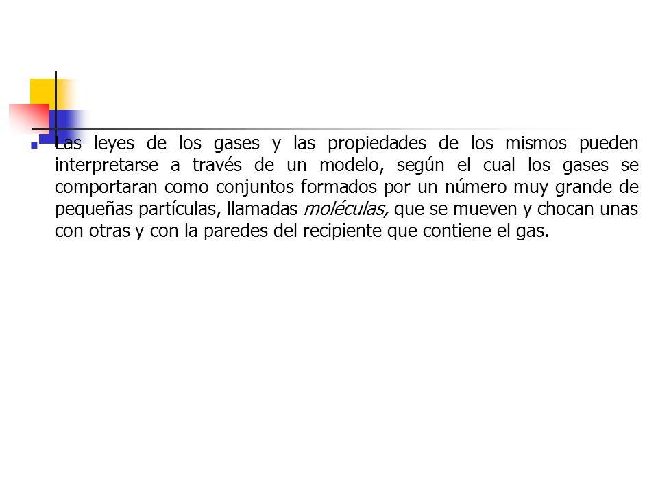 El Modelo Cinético de los gases 1.