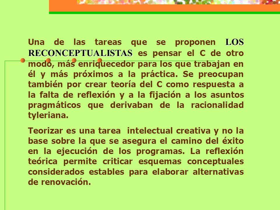 Para Bolívar, más allá de la polémica acerca de si la obra de Tyler es o no una expresión acabada del conductismo, lo importante es que se usó y asimiló al movimiento de objetivos, al conductismo y a un modelo técnico-gerencial de desarrollo curricular.