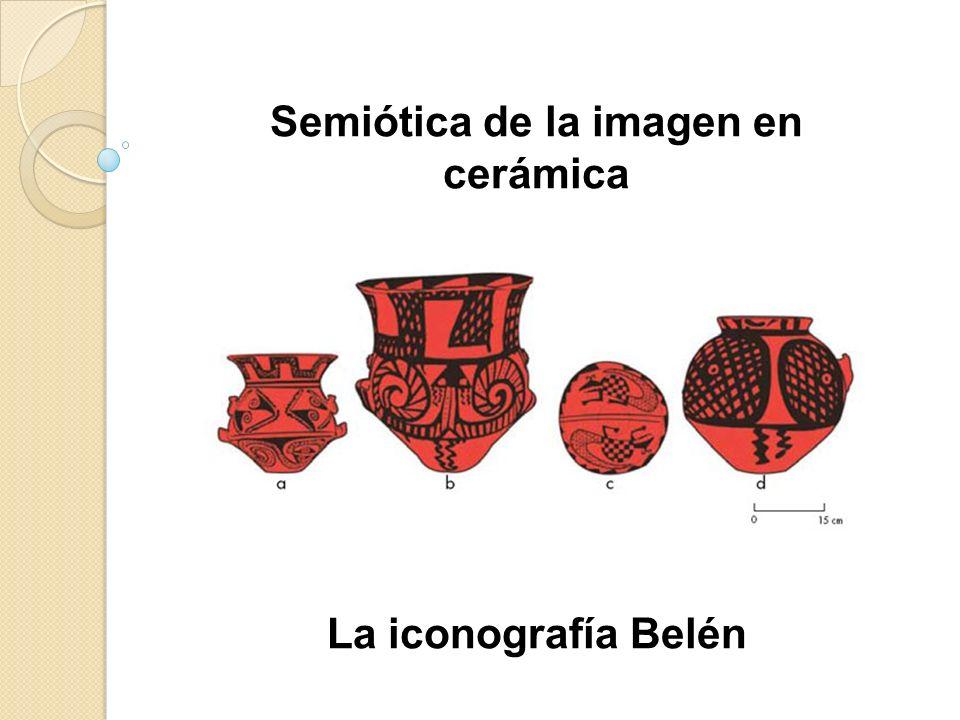 Semiótica de la imagen en cerámica La iconografía Belén
