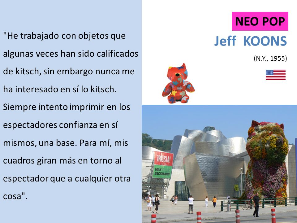 Jeff KOONS (N.Y., 1955) NEO POP