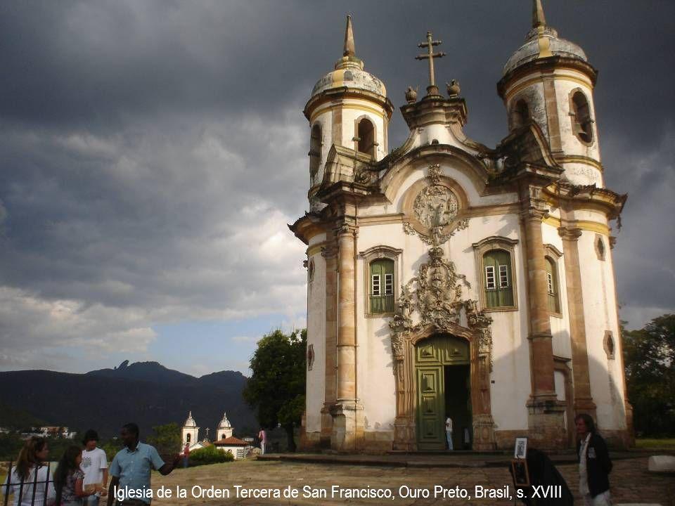 Iglesia de la Orden Tercera de San Francisco, Ouro Preto, Brasil, s. XVIII