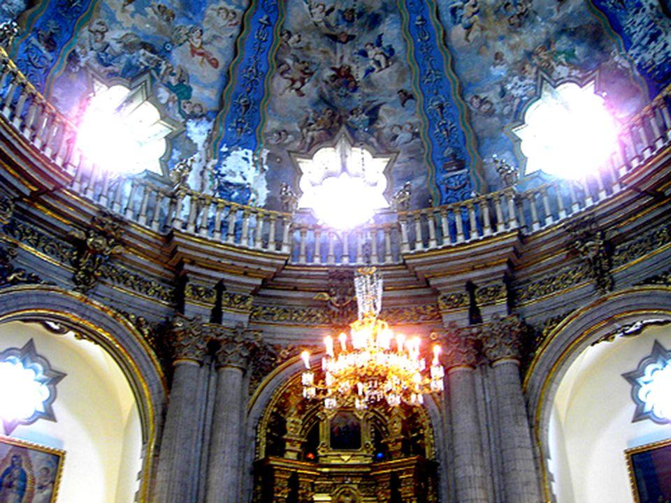 Capilla del Pocito, Basílica de Santa María de Guadalupe, México D.F., siglo XVIII