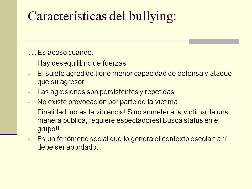 Como abordar el bullying: - Desde una visión colaborativa – Intervención /prevención Importante: difundir información a todos los miembros de la comunidad educativa Ser agentes de cambio.