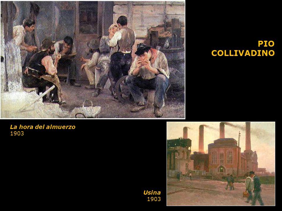 La hora del almuerzo 1903 PIO COLLIVADINO Usina 1903
