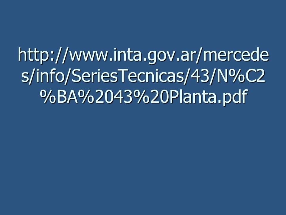 http://www.inta.gov.ar/mercede s/info/SeriesTecnicas/43/N%C2 %BA%2043%20Planta.pdf