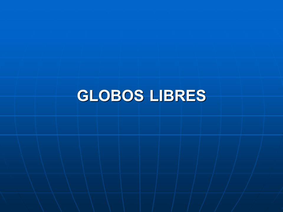 GLOBOS LIBRES