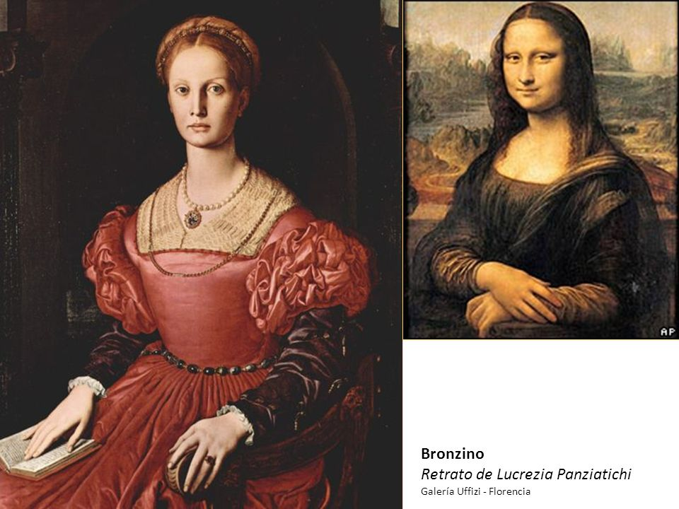 Bronzino Retrato de Lucrezia Panziatichi Galería Uffizi - Florencia