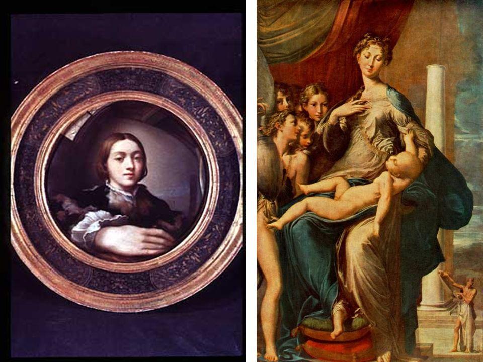 Parmigianino Autorretrato en espejo convexo 1524 24,4 cm