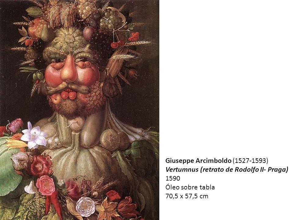 Giuseppe Arcimboldo (1527-1593) Vertumnus (retrato de Rodolfo II- Praga) 1590 Óleo sobre tabla 70,5 x 57,5 cm