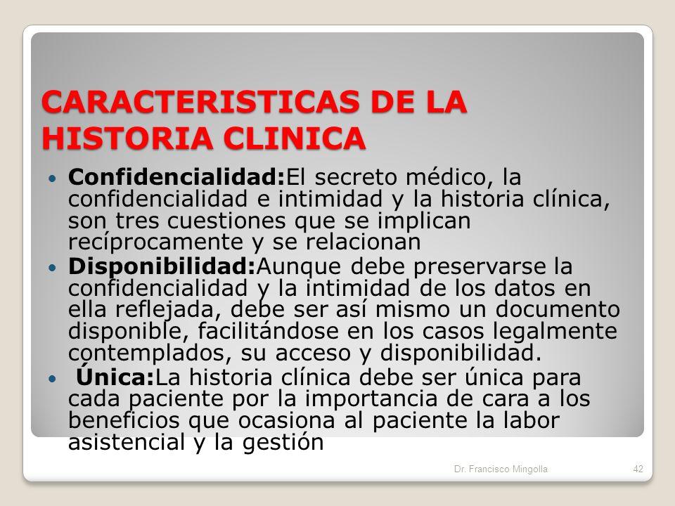 FINALIDAD E IMPORTANCIA MÉDICO LEGAL DE LA HISTORIA CLINICA El incumplimiento o la no realización de la historia clínica, puede tener las siguientes r