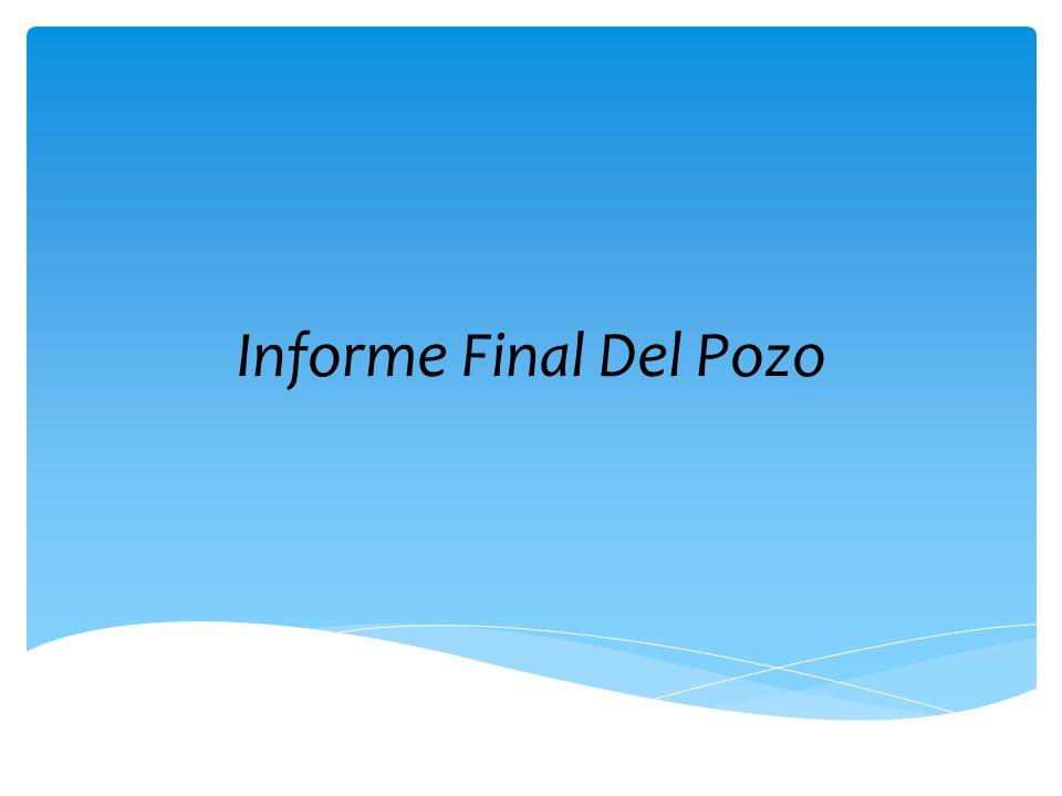 Informe Final Del Pozo
