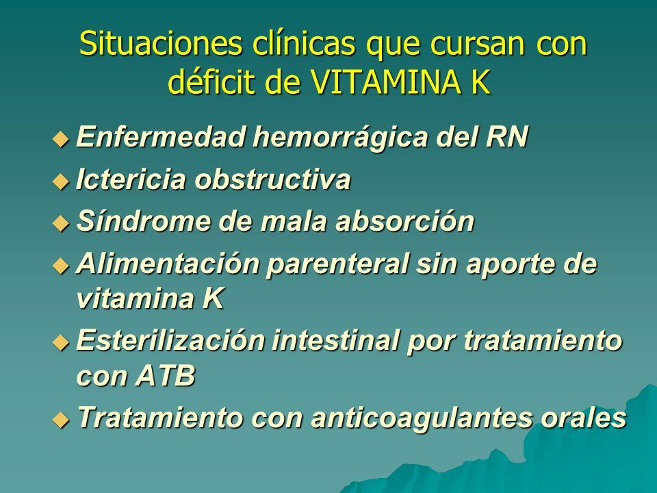 Enfermedad hemorrágica del RN(melena neonatorum) Enfermedad hemorrágica del RN(melena neonatorum) El RN tiene déficit de vit.