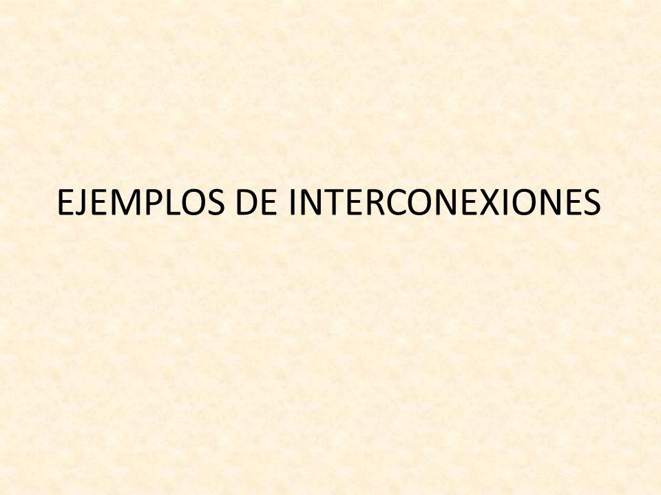 EJEMPLOS DE INTERCONEXIONES