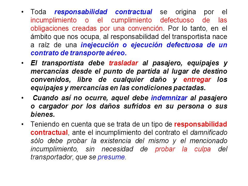 RESPONSABILIDAD CONTRACTUAL La responsabilidad civil comprende todos los supuestos en que un sujeto de derecho debe responder frente a la comunidad o
