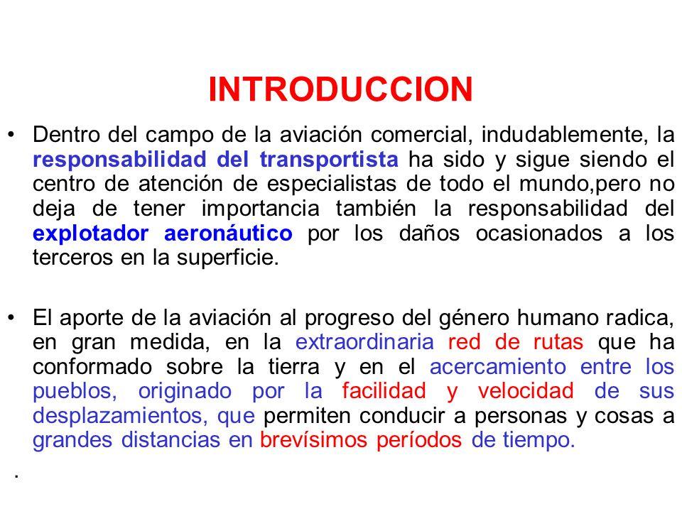 El contrato de transporte aéreo Concepto: hay contrato de transporte aéreo cuando una parte se obliga a trasladar a personas o cosas, de un lugar a otro, en aeronave y por vía aérea, y la otra a pagar un precio como prestación Elementos: los sujetos del contrato y el objeto.