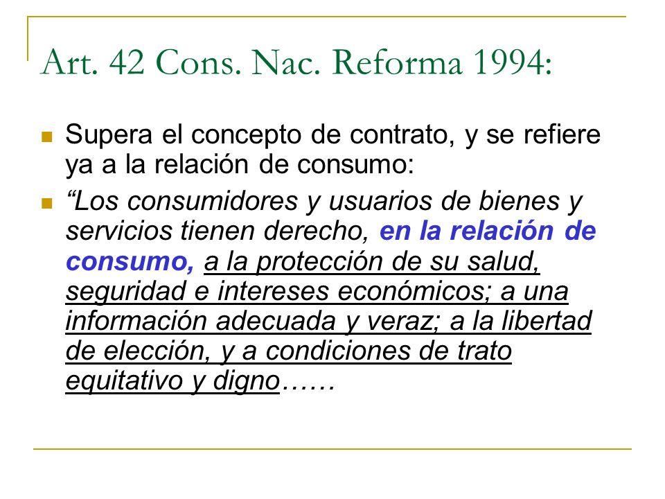 Art.42 Cons. Nac.
