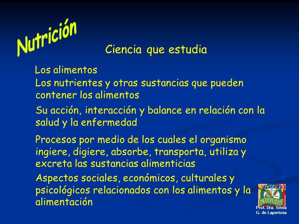Nutrición Normal: Definiciones.Generalidades. Concepto.