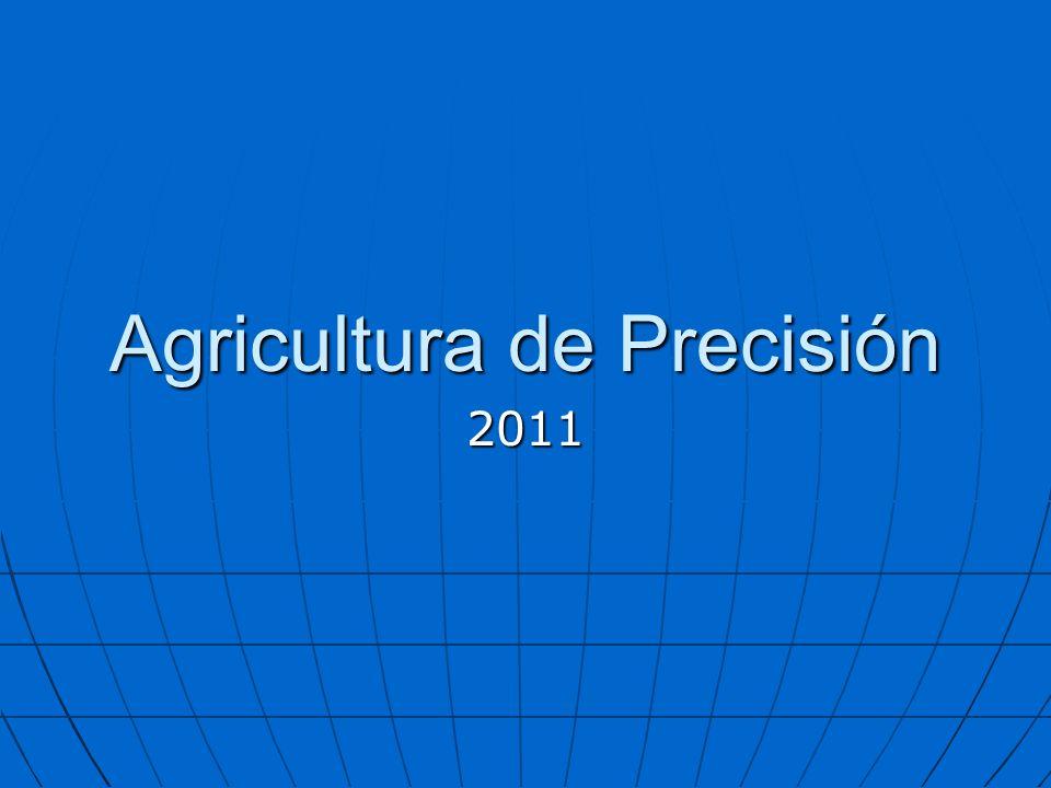 Agricultura de Precisión 2011