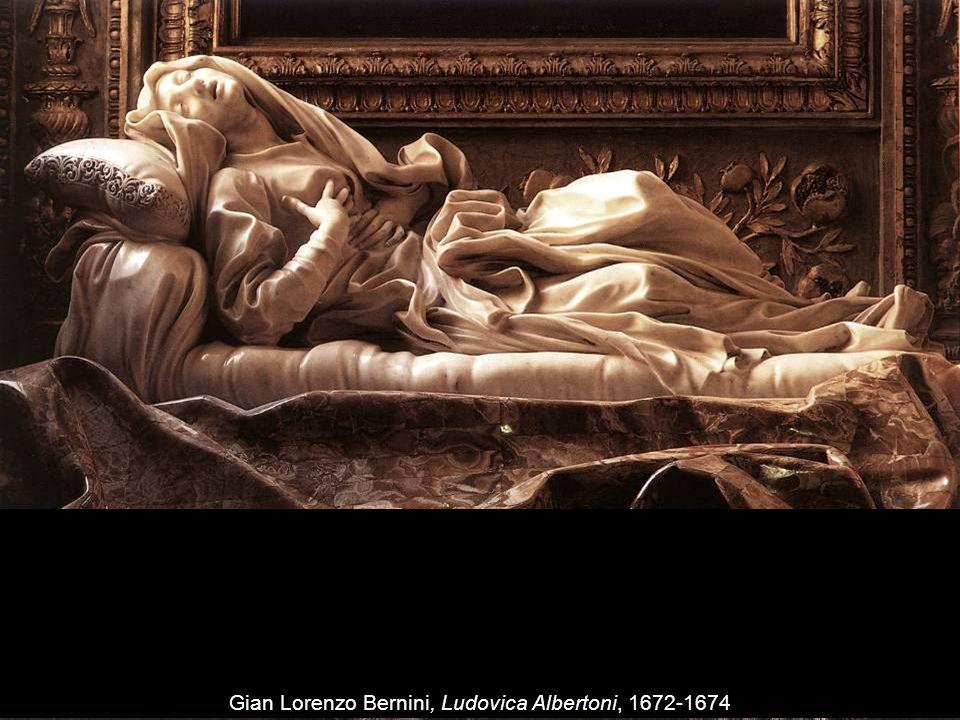 Gian Lorenzo Bernini, El martirio de San Lorenzo, 1614-1615 Gian Lorenzo Bernini, Ludovica Albertoni, 1672-1674