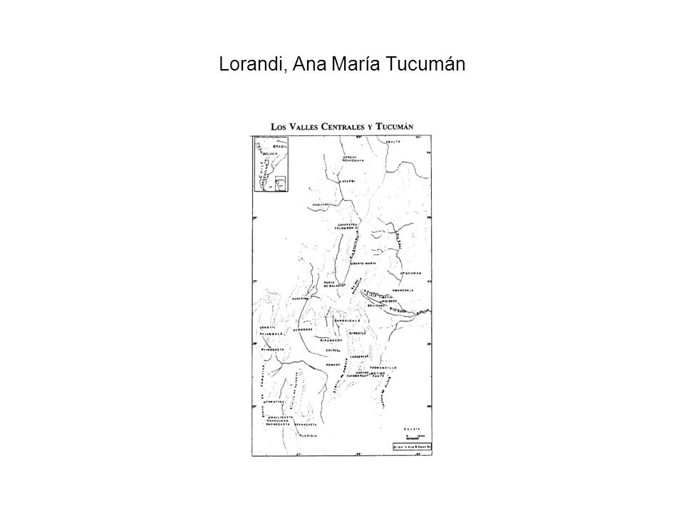 Lorandi, Ana María Tucumán