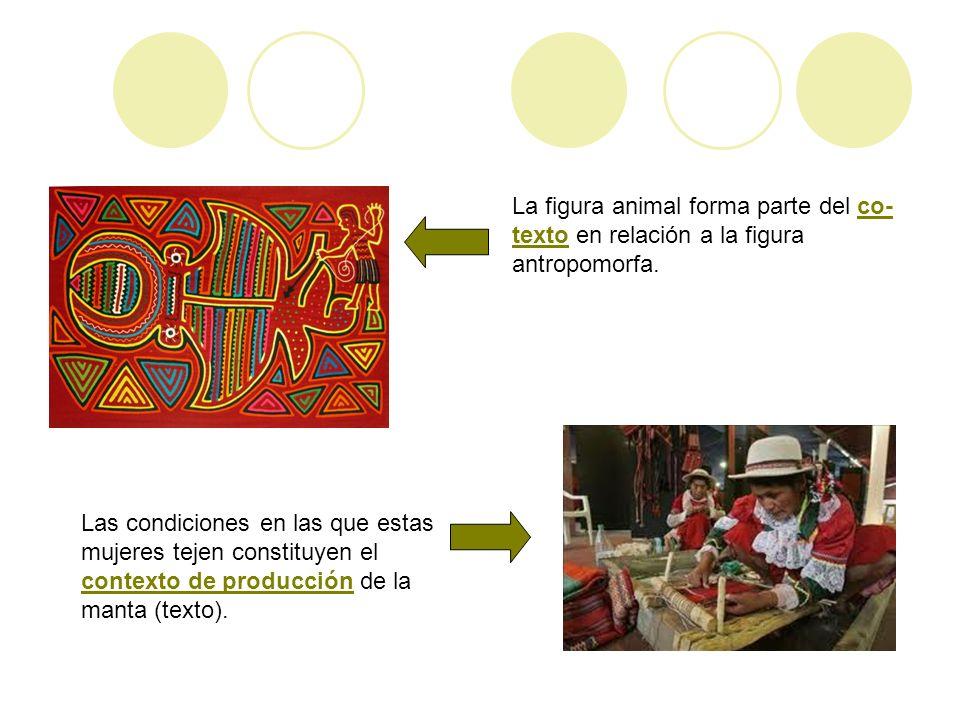 En el transcurso de este trabajo uso los conceptos de texto y código en el sentido dado por Gombrich (1997) pero establezco una diferencia entre el texto de la representación rupestre que sería equiparable al contexto visual de la imagen (todas las representaciones asociadas en una determinada composición) del texto analógico que son todas aquellas referencias a imágenes o formas, tomadas de fuentes externas, que compongo a modo de un texto paralelo de elementos visuales - asociados y ordenados a partir de distintos niveles de significación compartidos- que me sirve para contrastar con el texto rupestre.