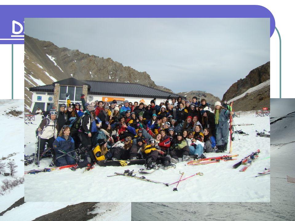 DIA 5: 24 de setiembre Visita al centro de esquí La Hoya Regreso 18:30 hs.