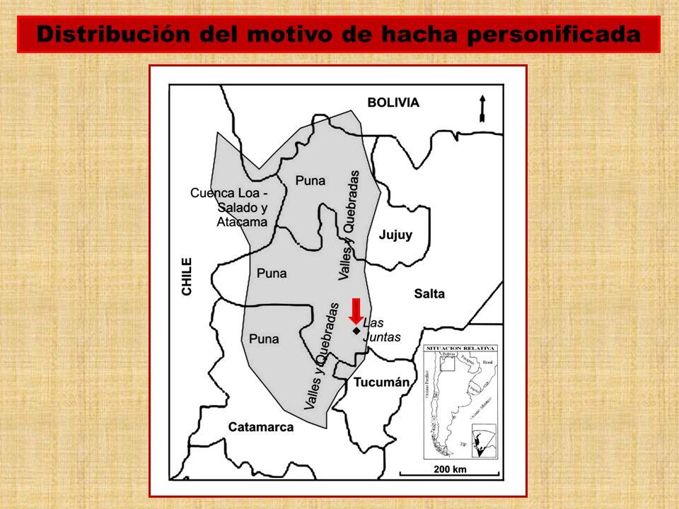 Las Juntas o Cerro de Las Cuevas Pintadas se encuentra en la articulación entre el sector meridional del Valle de Lerma y el Valle Calchaquí sur.