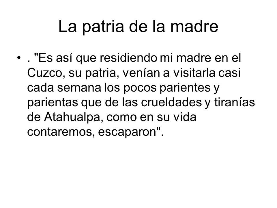 La patria de la madre.