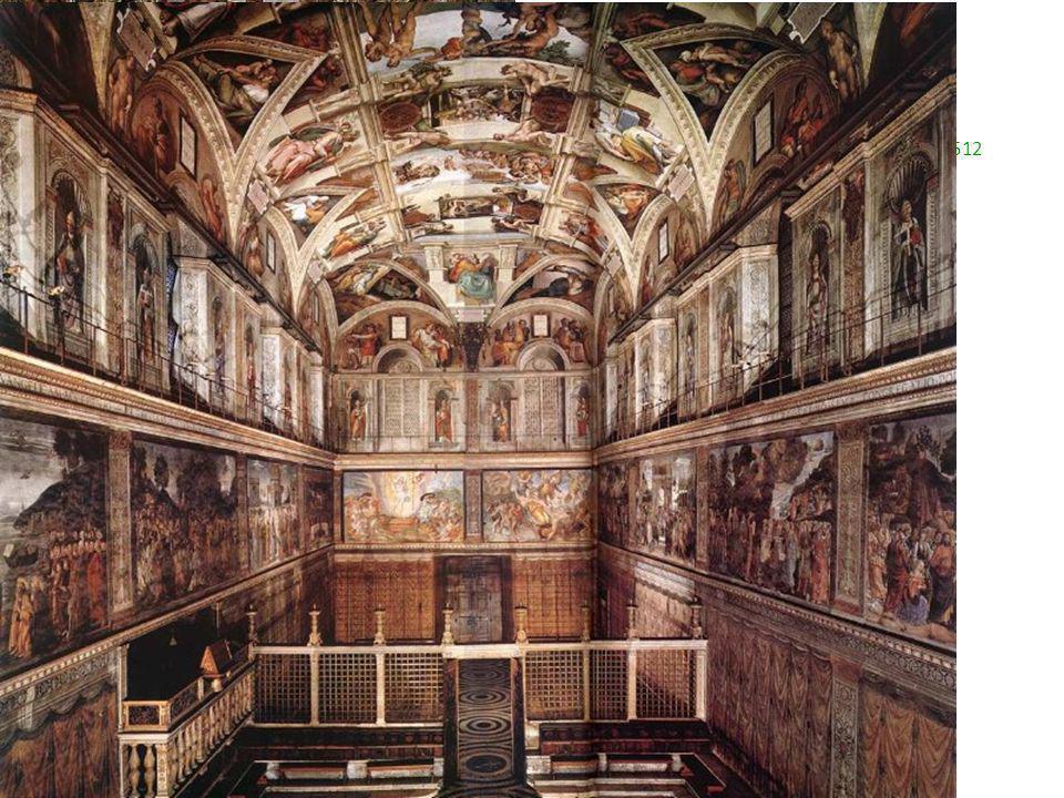 Miguel Ángel Capilla Sixtina 1508-1512