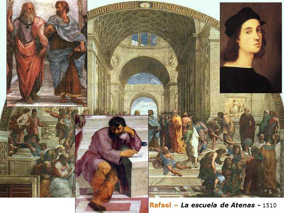 Rafael – La escuela de Atenas - 1510