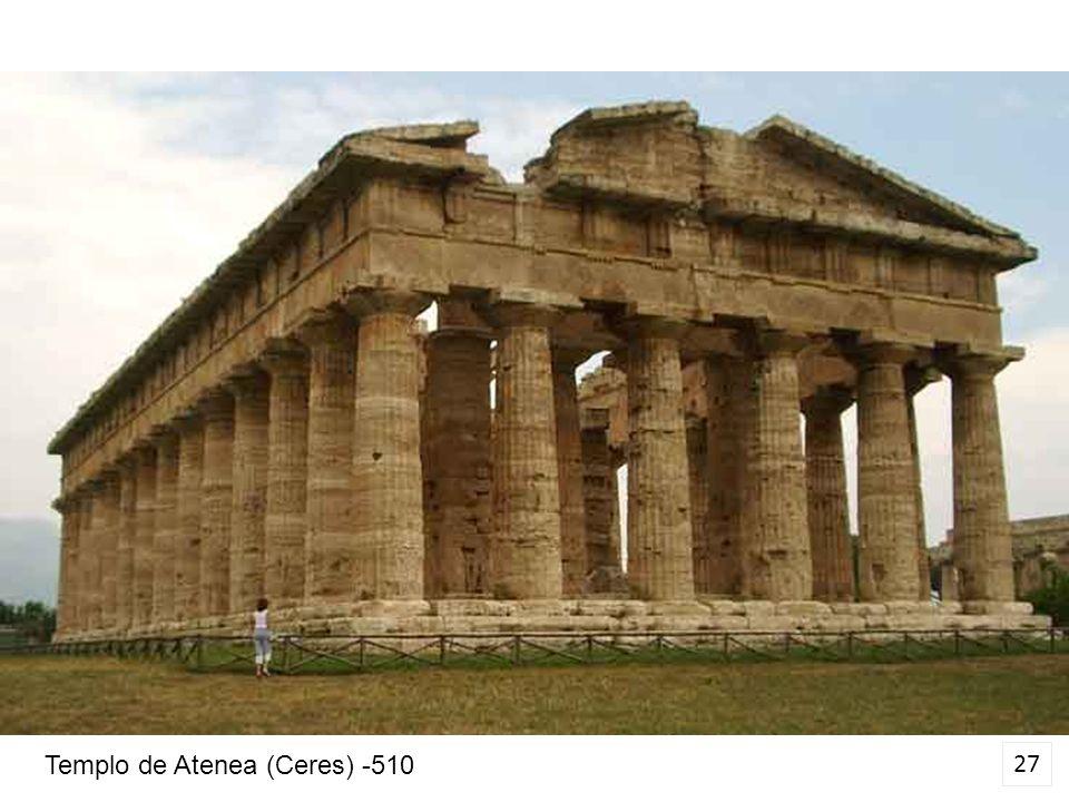 27 Templo de Atenea (Ceres) -510