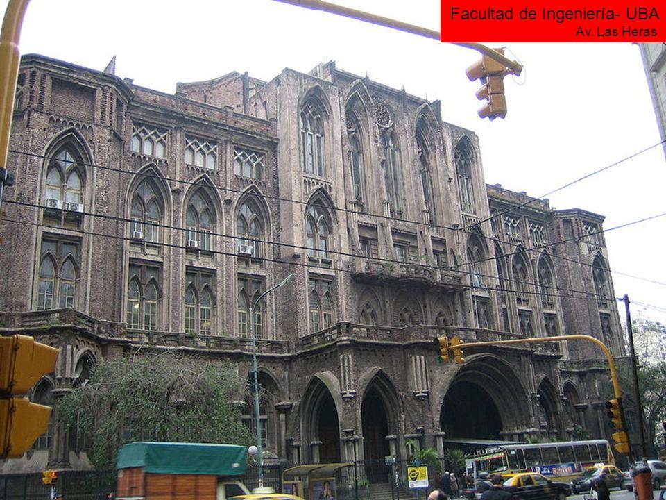 Facultad de Ingeniería- UBA Av. Las Heras
