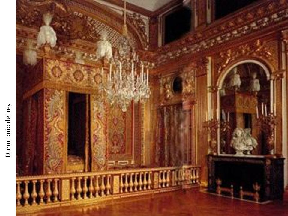 Dormitorio del rey