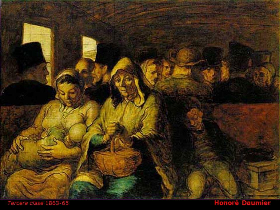1808- 1879 Honoré Daumier Hippolyte Abraham Tercera clase 1863-65 1844