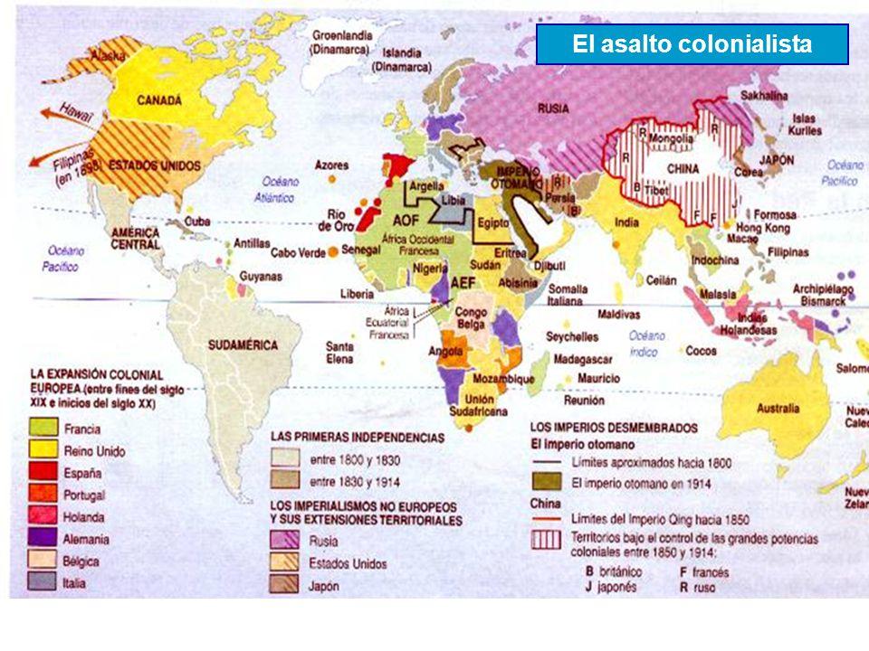 El asalto colonialista