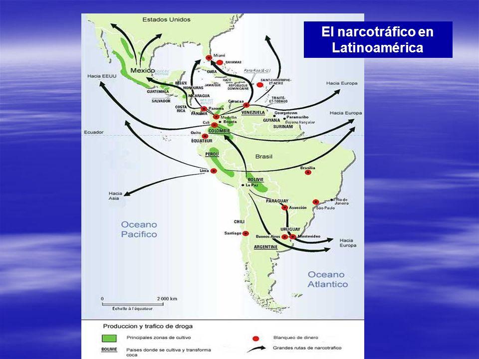 El narcotráfico en Latinoamérica