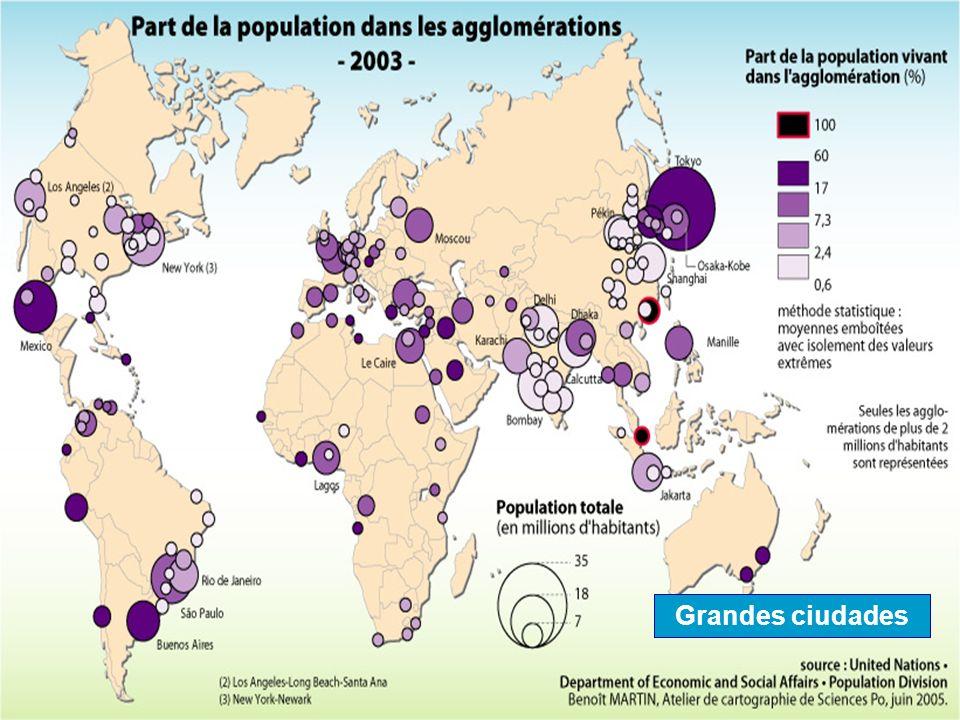 Proceso de urbanización mundial