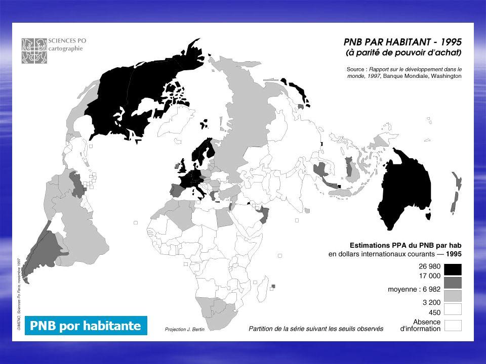 PNB por habitante