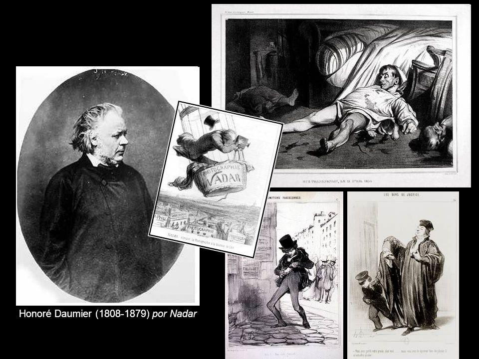 Honoré Daumier (1808-1879) por Nadar