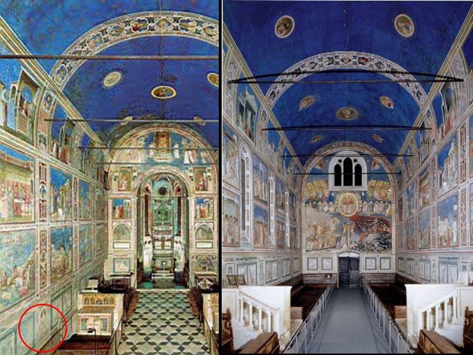 III Concilio laterano (1179) = Condena de la usura ¿La capilla es una restitución legal para congraciarse con el Papa Benedicto XI.