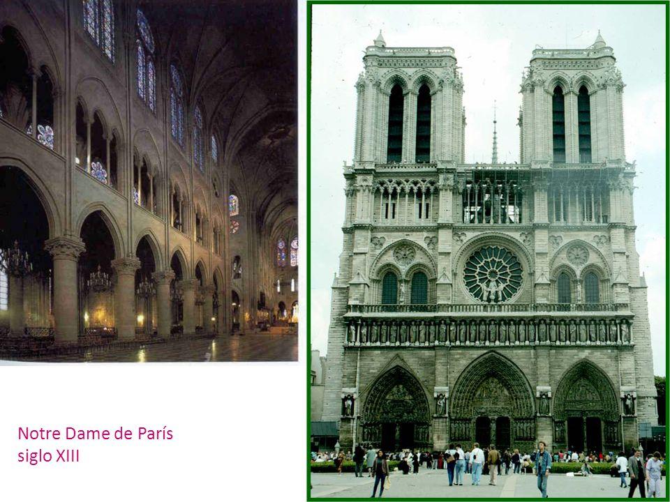 Notre Dame de París siglo XIII