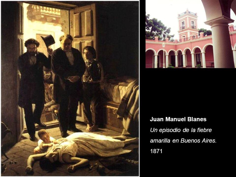 Juan Manuel Blanes Un episodio de la fiebre amarilla en Buenos Aires. 1871