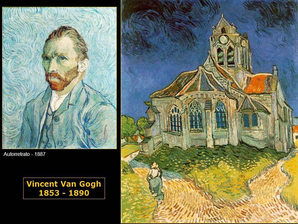 Vincent Van Gogh 1853 - 1890 Autorretrato - 1887